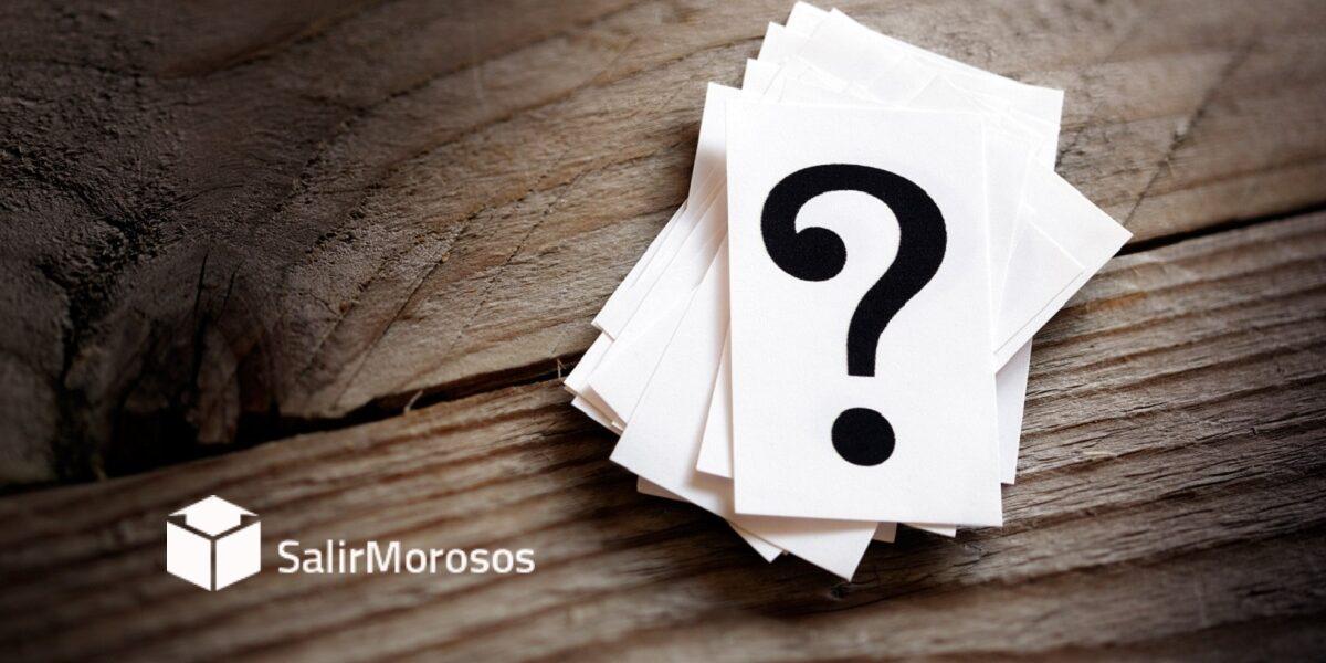 Salir de los ficheros de morosos preguntas frecuentes